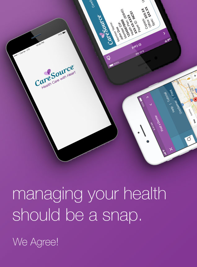 managing your health should be a snap. We Agree!